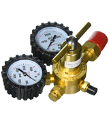 Uniweld RHP400 Nitrogen Regulator with 0-400 PSI Delivery Pressure