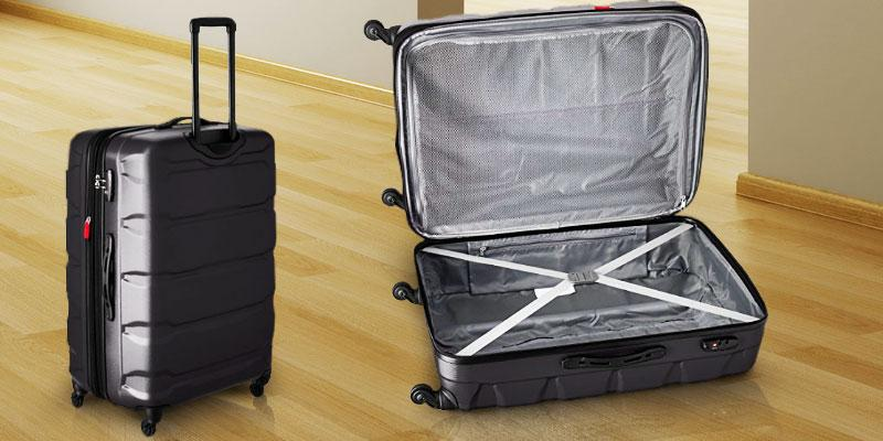 Samsonite PC 3 Piece Set Omni Spinner Suitcase in the use