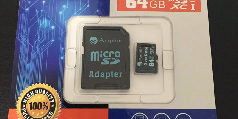 Detailed review of Amplim 64G UHS-1