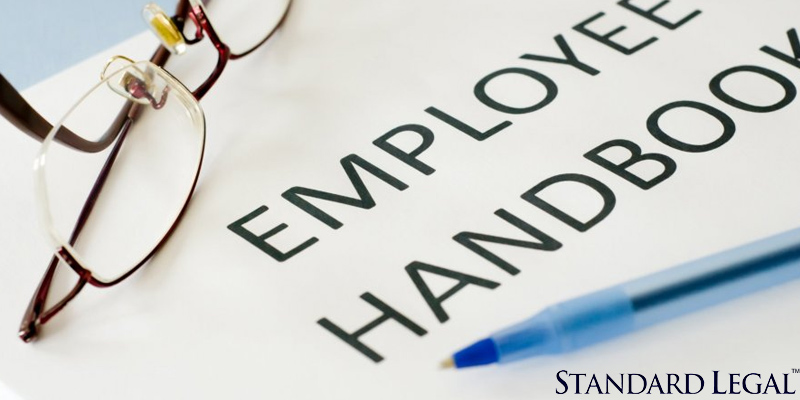 Standard Legal Employee Manual Legal Forms in the use