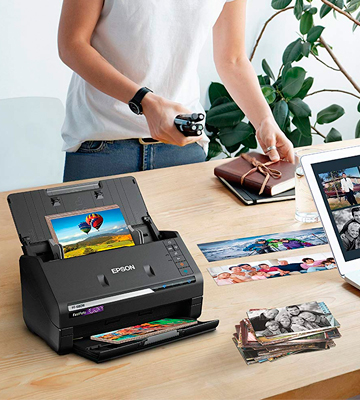 Review of Epson FastFoto FF-680W Wireless High-Speed Photo and Document Scanning System