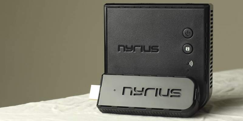 Review of Nyrius ARIES Pro (NPCS600) Wireless HDMI Transmitter and Receiver To Stream HD 1080p 3D
