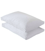 Basic Beyond 2 Pack Luxury Gusseted Goose Down Feather Pillow