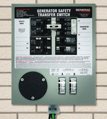 Review of Generac 6376 Indoor Manual Transfer Switch