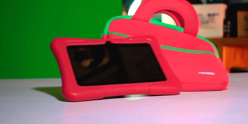 Dragon Touch Y88X Plus Kids Tablet with Pre-installed Kidoz in the use