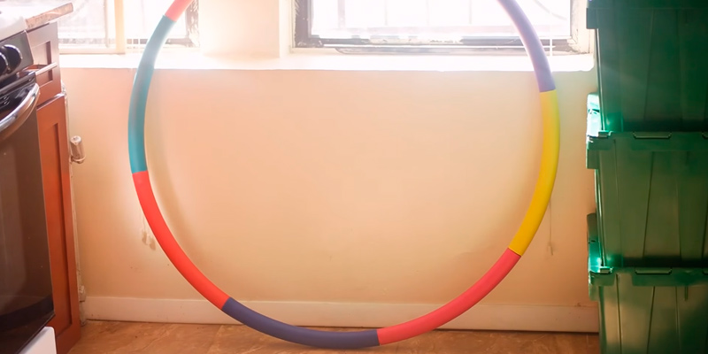 Sports Hoop Trim Hoop 3B with 50 minutes Workout Lesson DVD in the use