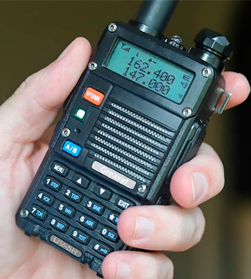 Review of Greaval UV-5R Dual Band Ham Radio