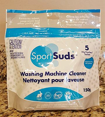 Review of Sport Suds Washing Machine Cleaner