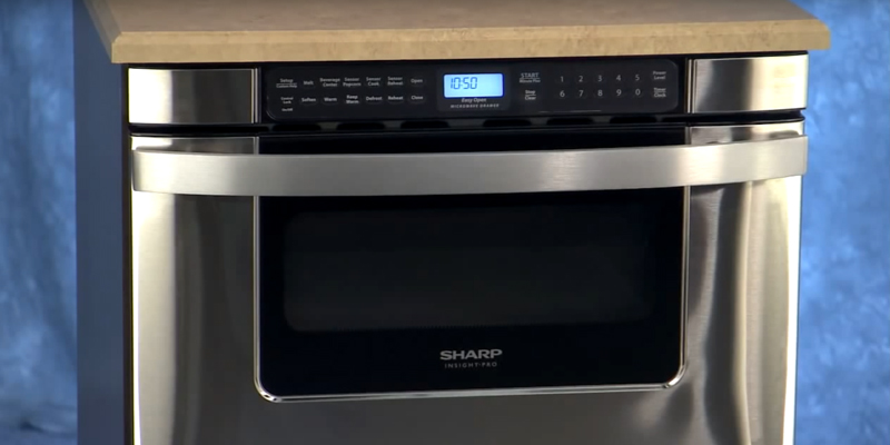 Review of Sharp KB-6524PS Microwave Drawer Oven