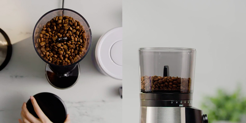 OXO BREW 8717000 Conical Burr Coffee Grinder in the use