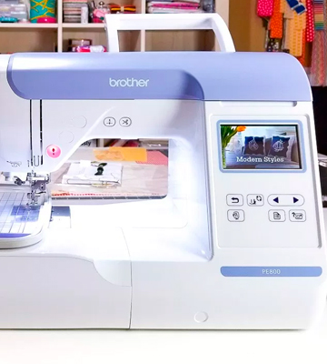 Review of Brother PE800 Embroidery Machine