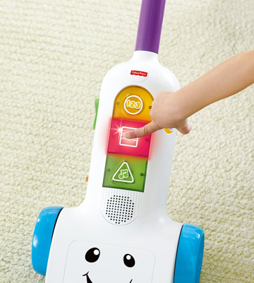 Review of Fisher-Price Laugh & Learn Smart Stages Vacuum