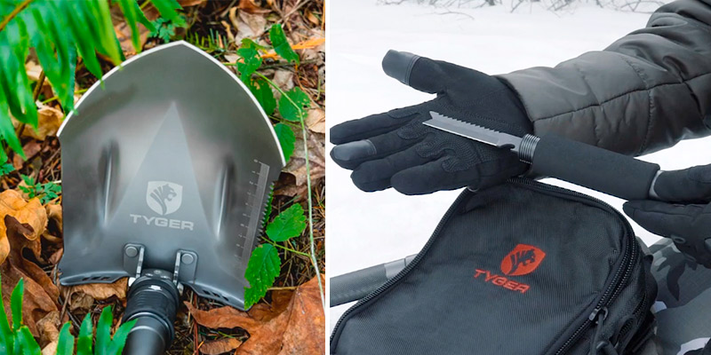 Review of Tyger Auto TG-SV8U3217 16 Tools in One Military Shovel