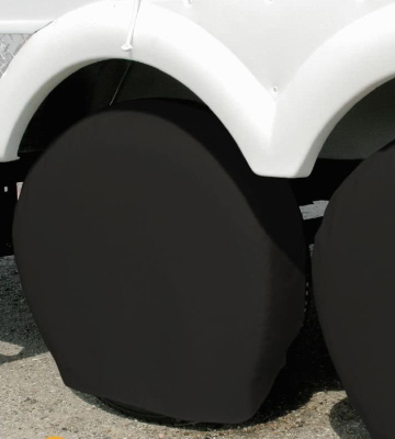 Review of Explore Land Tire Covers Tough Tire Wheel Protector