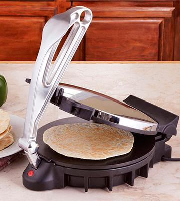 Review of CucinaPro 10-inch Electric Chapati/ Roti/ Flatbread Maker