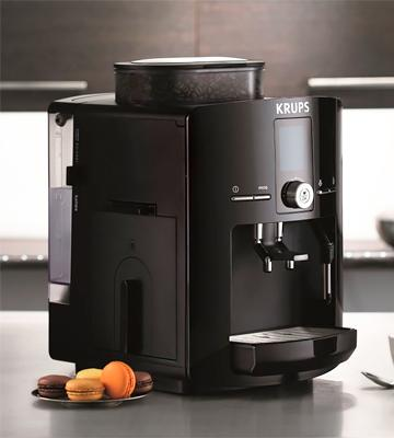 Review of KRUPS EA8250 Espresseria Fully Automatic Espresso Machine Coffee Maker