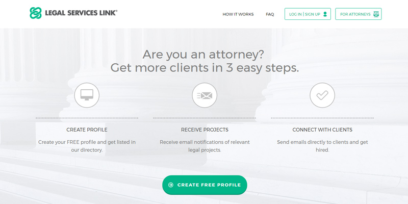 Review of Legal Services Link Find a Lawyer