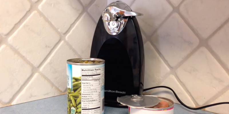 Review of Hamilton Beach 76380Z Classic Chrome Heavyweight Can Opener