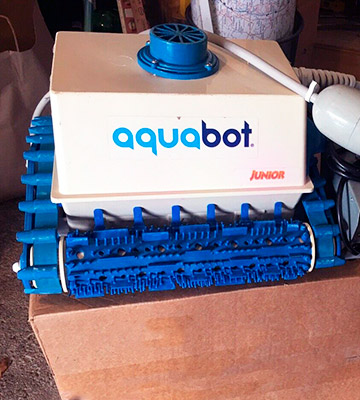 Review of Aquabot ABJR Junior Robotic Pool Cleaner