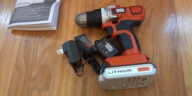 Review of Black & Decker LDX120C Lithium-Ion Cordless Drill/Driver