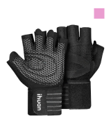 ihuan Professional Ventilated Weight Lifting Gym Workout Gloves