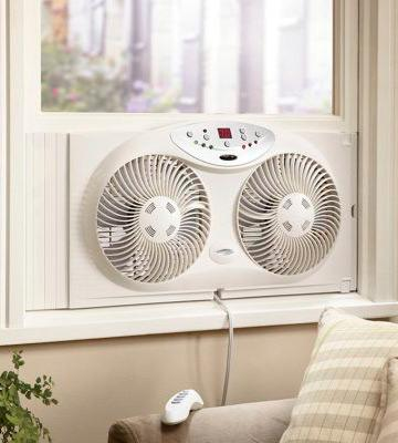 Review of Bionaire Twin Reversible Airflow Window Fan
