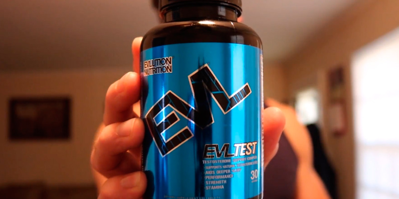 Review of Evlution Nutrition 30 Serving Testosterone Booster Pills