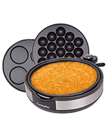 CucinaPro Multi Baker Deluxe Pancake maker with 3 interchangeable skillets