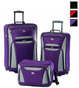 American Tourister 56445 Fieldbrook II Ultra Light-Weight Luggage Set