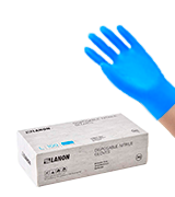 LANON Disposable Nitrile Gloves, Food Grade, Latex Free