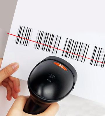 Review of TaoTronics USB Barcode Scanner Wired Handheld Laser