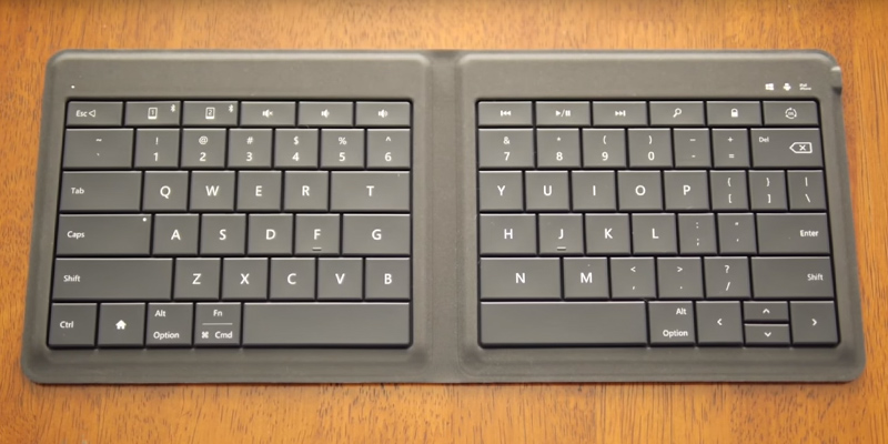 Review of Microsoft GU5-00001 Universal Foldable Keyboard