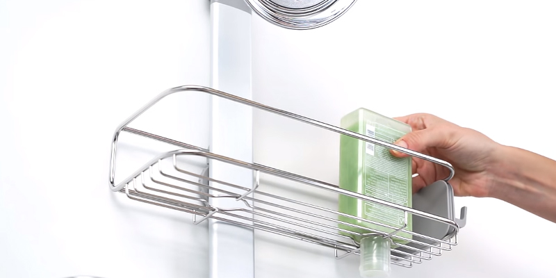Review of Simplehuman BT1098 Adjustable, Hanging Shower Caddy