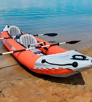Review of Intex Excursion Pro K2 Tandem Inflatable Fishing Kayak