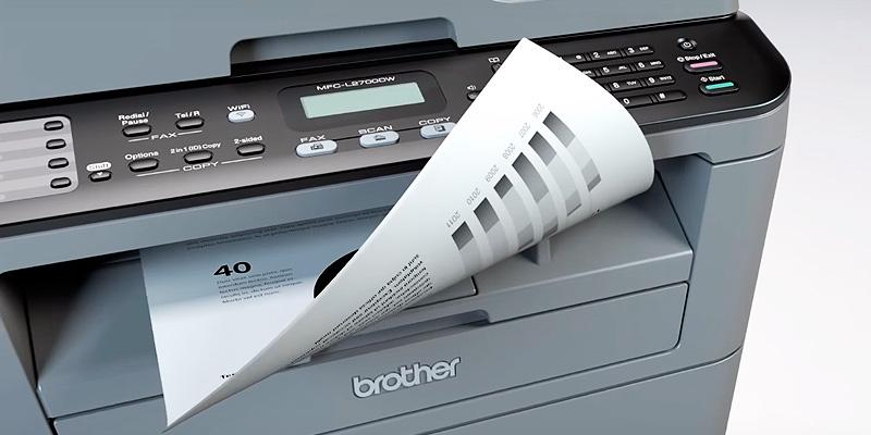 Brother MFCL2700DW Compact Laser All-In One Printer in the use