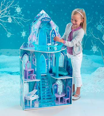 Review of KidKraft 65881 Frozen Ice Castle Dollhouse