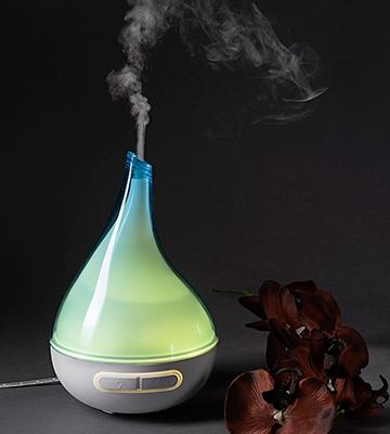 Review of Quooz Ultrasonic Aromatherapy Essential Oil Diffuser