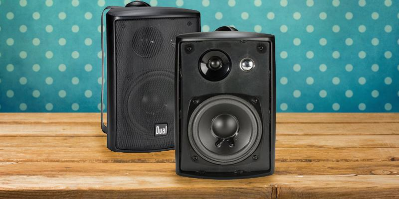 Review of Dual LU43PB 3-Way High Performance Indoor/Outdoor Speakers with Swivel Brackets