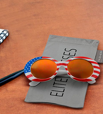 Review of Elite Glasses Thick Frame Rapper Clout Goggles Oval