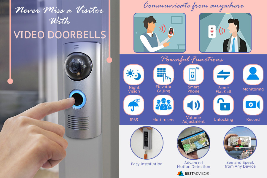 Comparison of Video Doorbells to Keep Your Home Safe