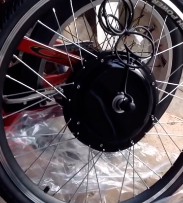 Review of AW Kit PAS System 26x1.75 Front Wheel 48V 1000W 470RPM