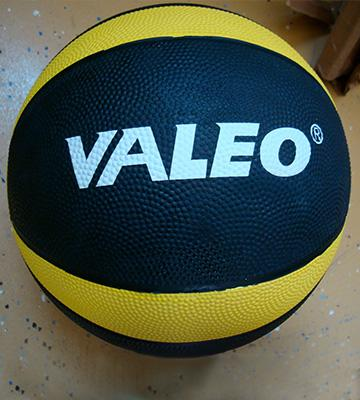 Review of Valeo Sturdy Rubber Construction And Textured Finish 12 Lbs