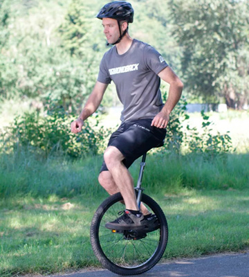 Review of Diamondback Bicycles CX Wheel Unicycle