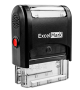 ExcelMark One Line Custom Rubber Stamp