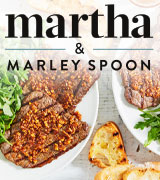 Martha & Marley Spoon Meal Boxes for Couples, Families, & Friends