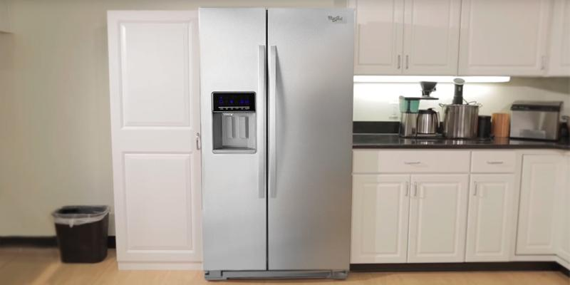 Detailed review of Whirlpool 25.6 Cu. Ft. Side-By-Side Refrigerator Energy Star
