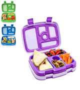 Bentgo Lunch Box Kids Childrens - Bento-Styled Lunch Solution Offers Durable