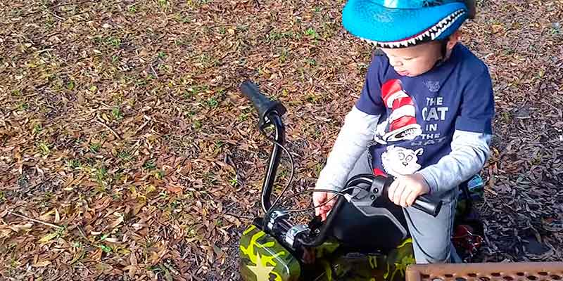 Jetson Electric Bikes Junior in the use
