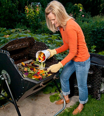 Review of Lifetime 60028 Compost Tumbler