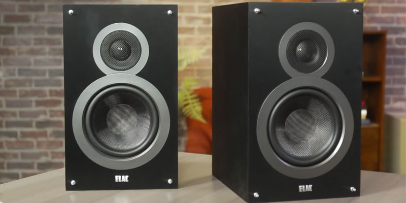Review of Elac B6 Bookshelf Speakers by Andrew Jones